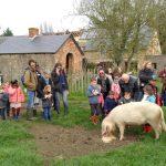 Sortie dans une ferme pédagogique pendant les vacances d'automne 2017