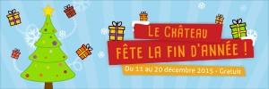 Le Château fête la fin d'année