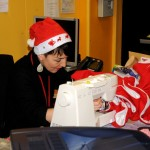Derniers préparatifs de l'après-midi festive à la Barakason le 20 décembre