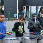Les jeunes percussionnistes de RythmEnCité sont de retour pour les festivités