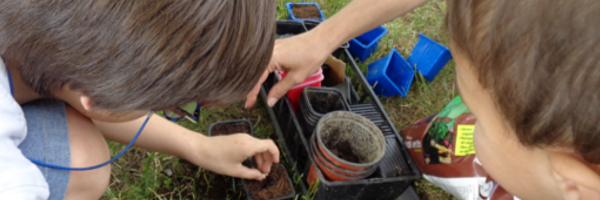 On jardine au CSC !